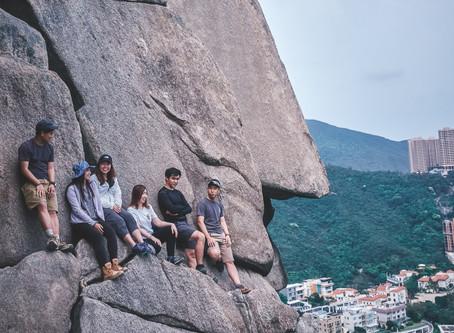 【面具石🗿】 聶高信山 | 爬山玩石