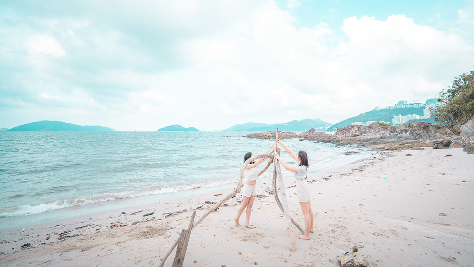 【神秘沙灘】露營灣