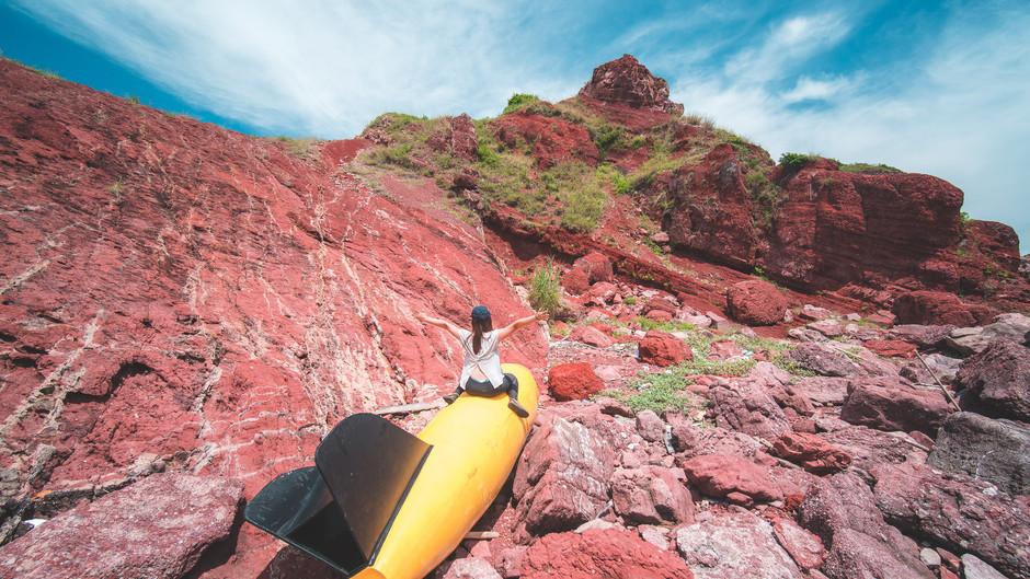 【赤洲 】 赤色島嶼大探索|離島探奇