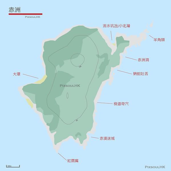 PixsoulHK赤洲地圖