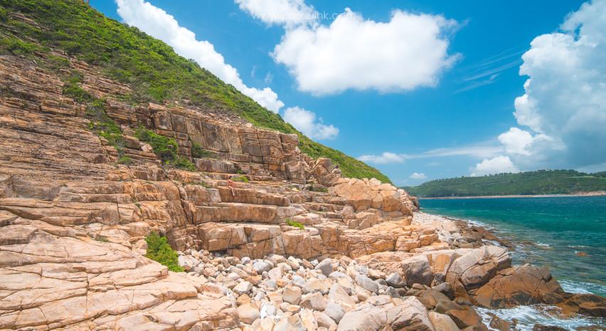 千層海岸 - 巨人階梯