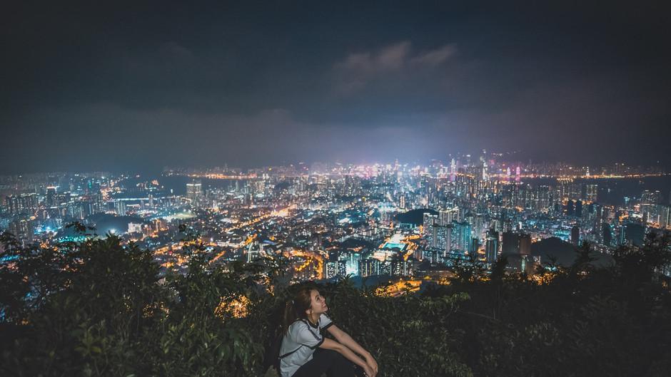 【攝影之夜】 畢架山夜景