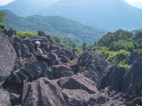 【鹿巢石林⛰️】香港最大石林|爬山玩石