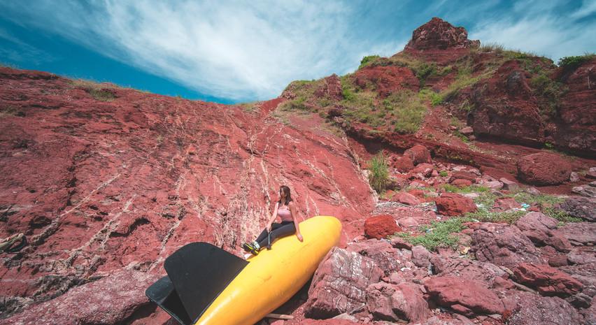 赤漠迷城 海底測量儀
