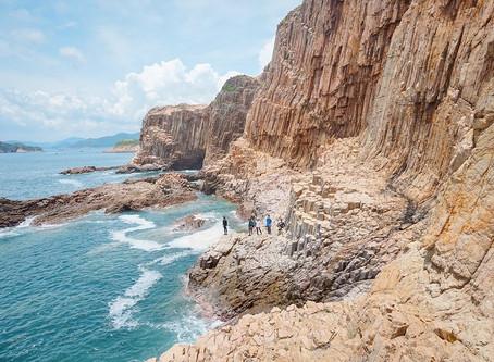 【香港世界之最】橫洲六角形岩柱群🌋