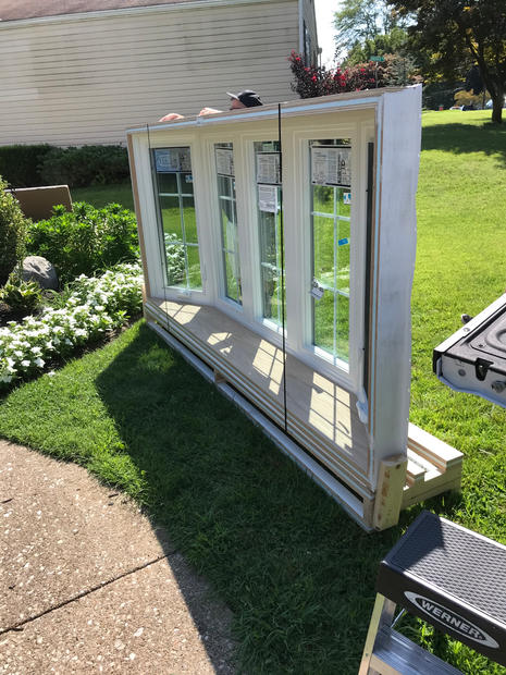 New window ready to be installed.