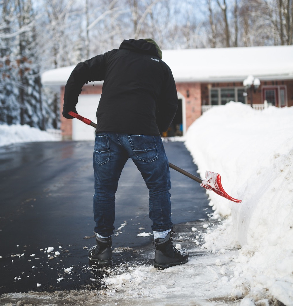 Have your snow removal equipment on hand
