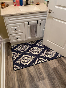 The Laundry Room flooring was also replaced.