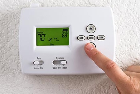 Lower the thermostat