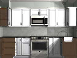 Rendering made prior to construction
