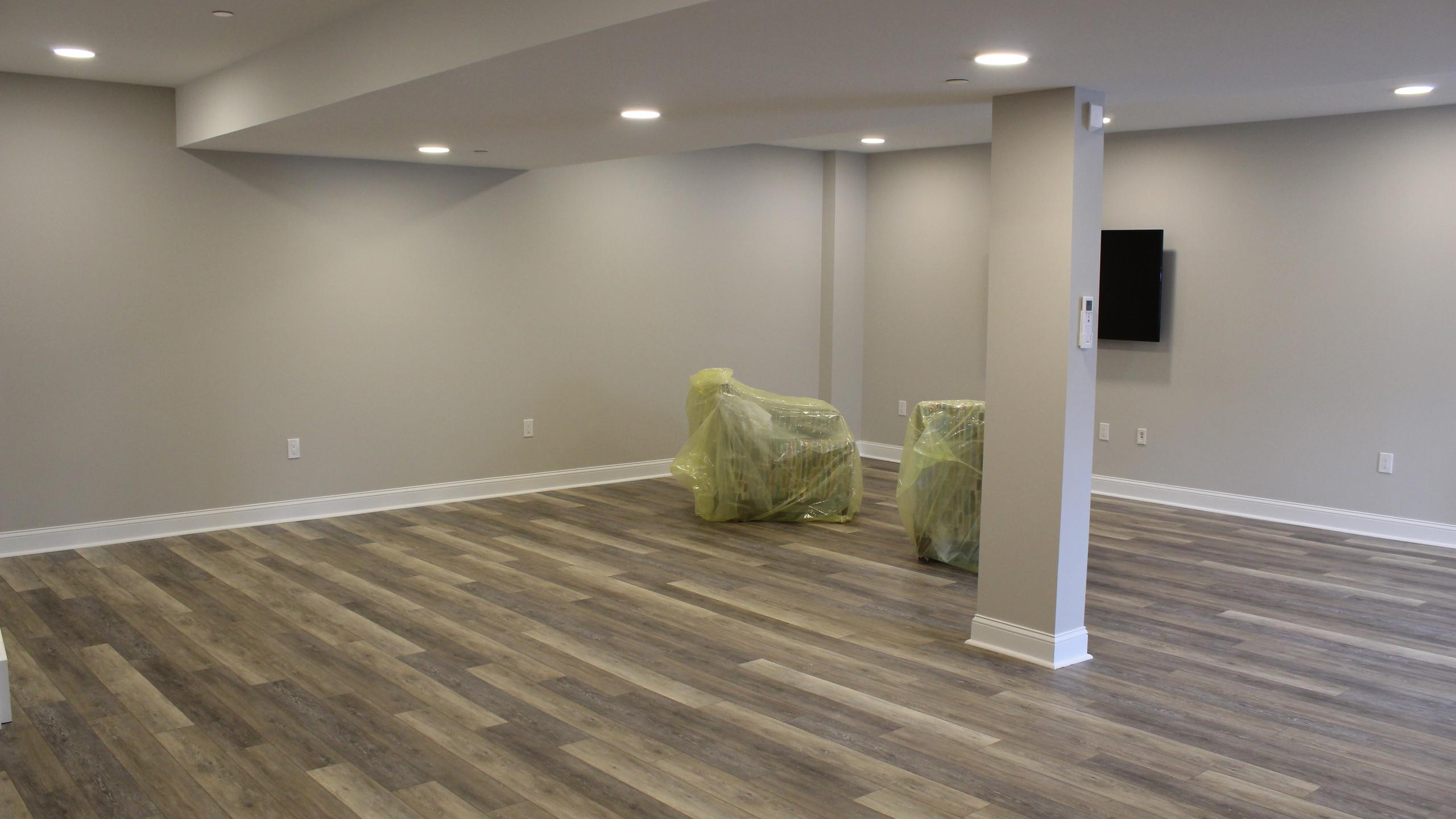 Main basement area
