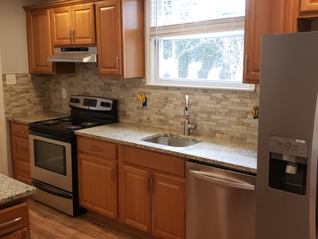 Project spotlight: A new and beautiful kitchen remodel without a hefty price tag!