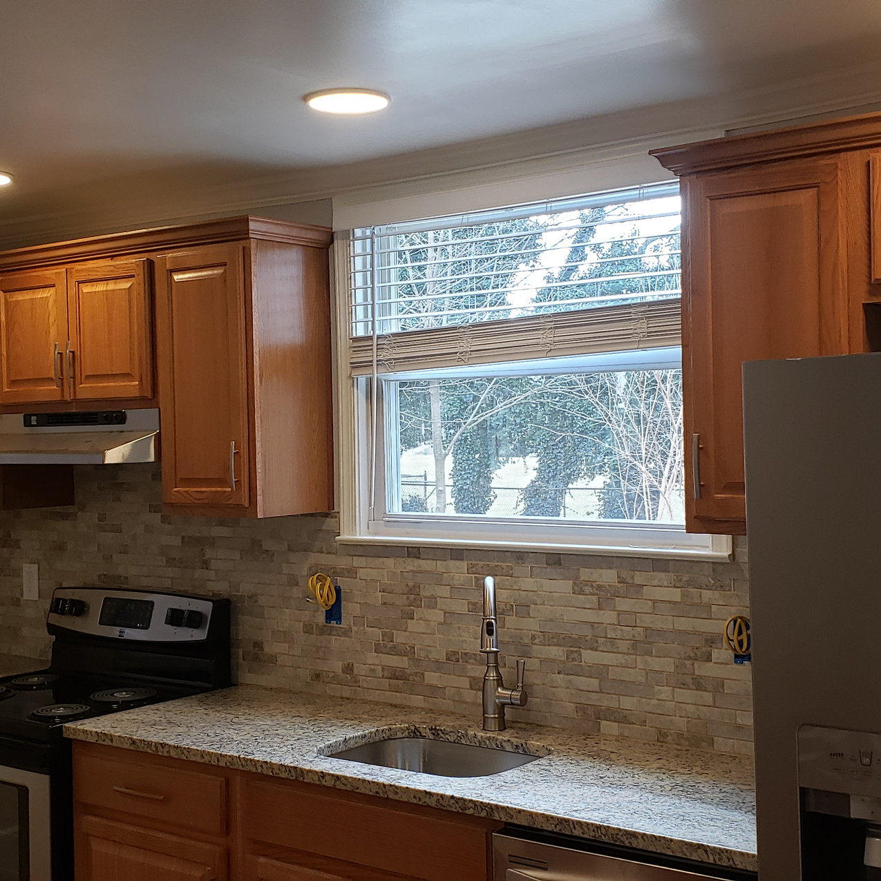 After - Recessed Lighting