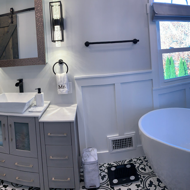 Model Bathroom 2020