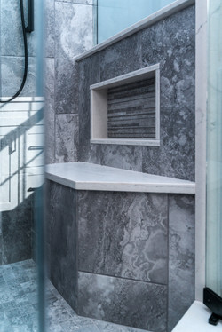 Shower Bench and Nook