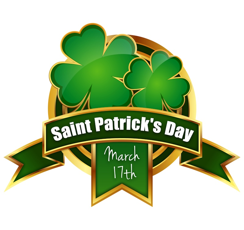 saint patricks badge