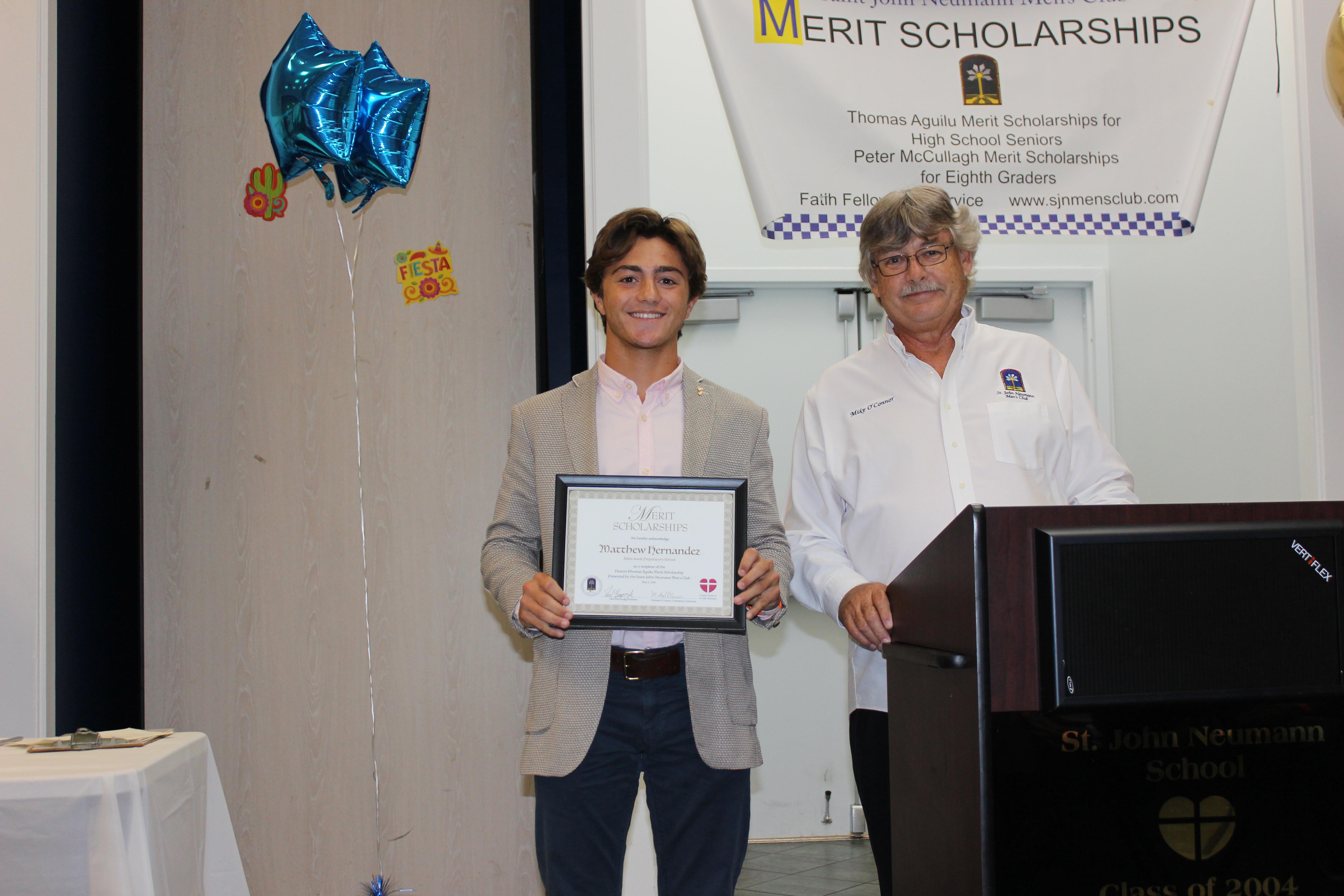 Matthew Hernandez Scholar