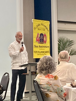 Deacon Ralph at May Myrna Gallagher Tribute