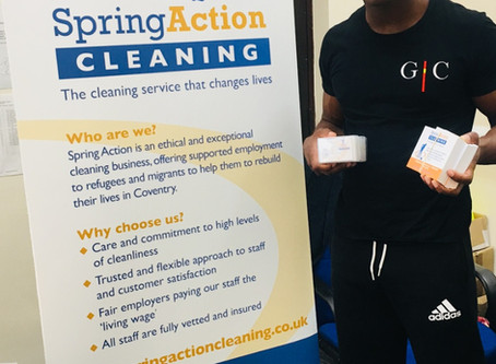 Spring Action cleaning – doing business differently