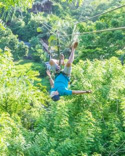 Mayan Jungle Canopy Zipline