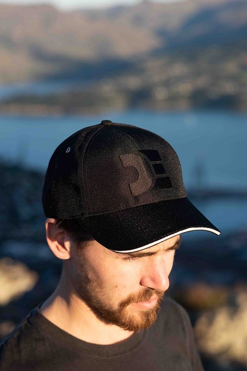 Recycled Baseball Cap | DE Black