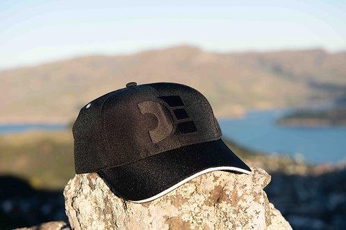 Recycled Baseball Cap - DE Black