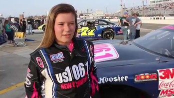 Macy Causey Races at Langley Speedway.mp