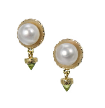 Spring Moon earrings