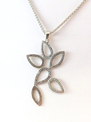 Open Leaf Pendant