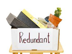 Redundant does not mean finished