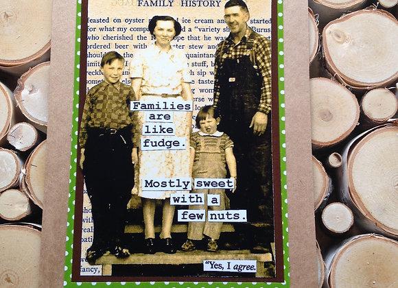 "Fulton's Greeting Card - ""Family History"""