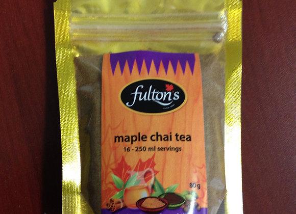 Maple Chai Tea