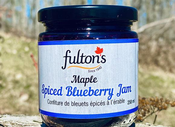 Maple Spiced Blueberry Jam
