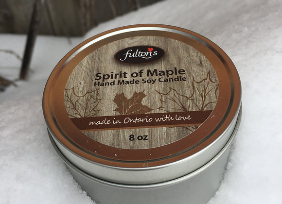 Spirit of Maple Candle