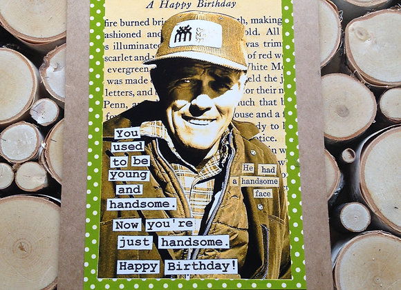 "Fulton's Greeting Card - ""A Happy Birthday"""
