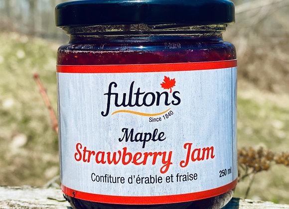 Maple Strawberry Jam