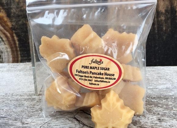 Maple Sugar Candy - 10 Leaf Bulk Bag