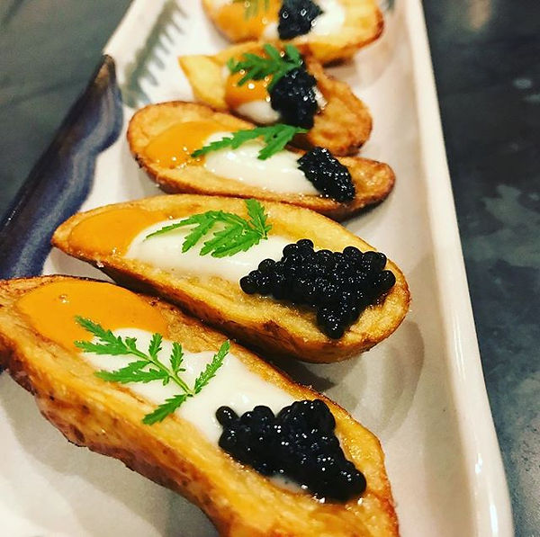 New uni, caviar, cauliflower amuse.jpg