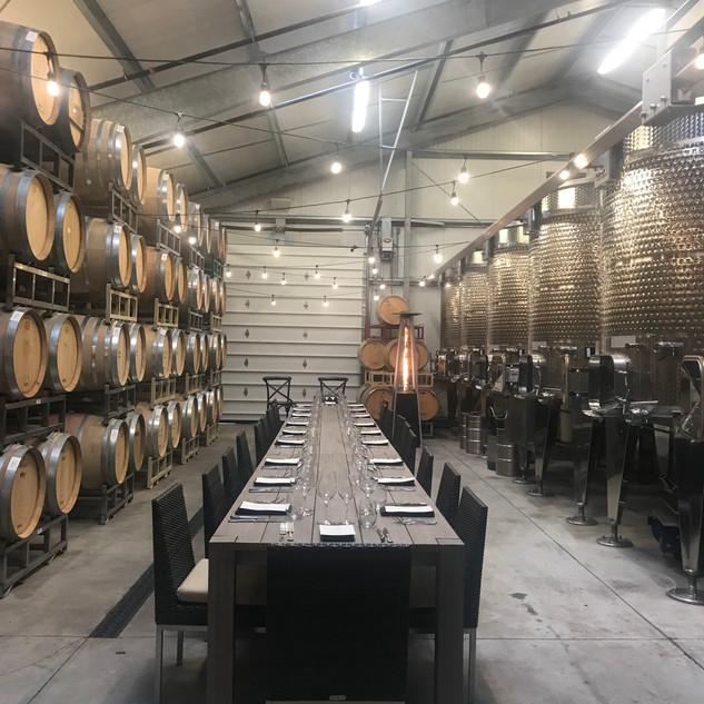 Barrel Room Dinner