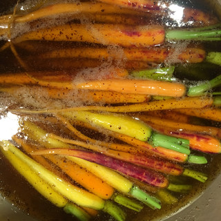 Brown Buttered Carrots