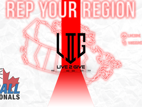 #RepYourRegion: Live2Give