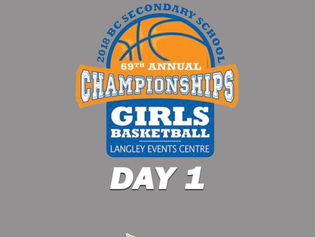 BC AA Girls Provincials - Day 1 Previews & Match-ups