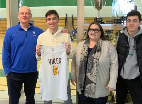 Family Ties: Diego Maffia Stays Home with Commitment to University of Victoria Vikes