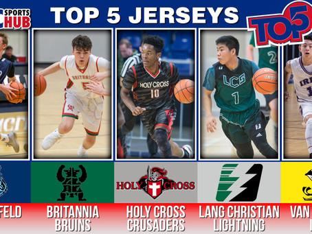 The Hub's Top 5: Best Jerseys