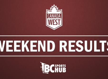 Canada West Men's Basketball Weekend Results - December 1-2, 2017