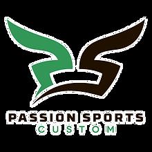 passion sports logo Transparent white bo