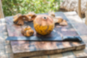 Unlimited organic coconuts are included in all of our retreat packages