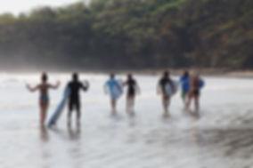 beginner's surf lessons nicaragua