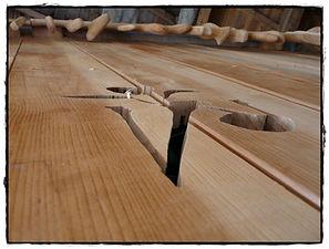 Roulotte à thème en bois