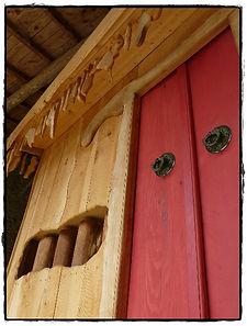 temple boudhiste en bois